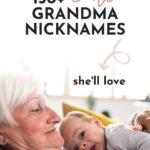 Cute Grandma Nicknames