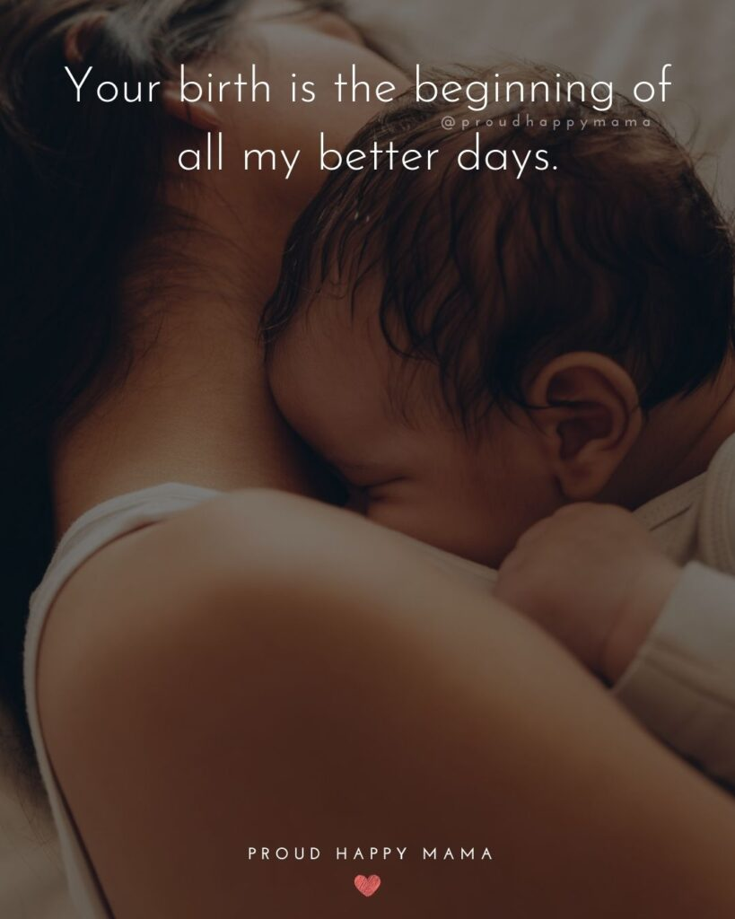 Nephew Quotes - Your birth is the beginning of all my better days.