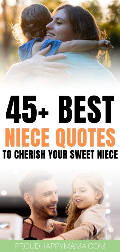Niece Quotes - Quotes for a niece from Aunt