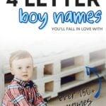4 letter boy names ideas