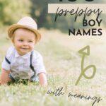 Baby Boy Names Preppy