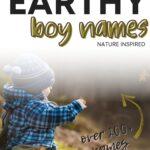Best Earthy Boy Names