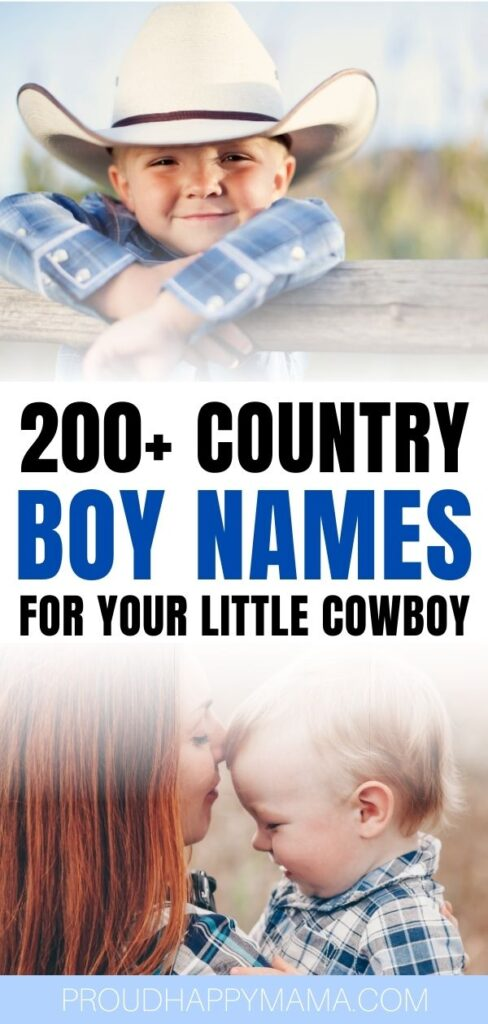 Best country western boy names