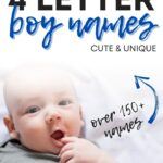 Cute 4 Letter Boy Names