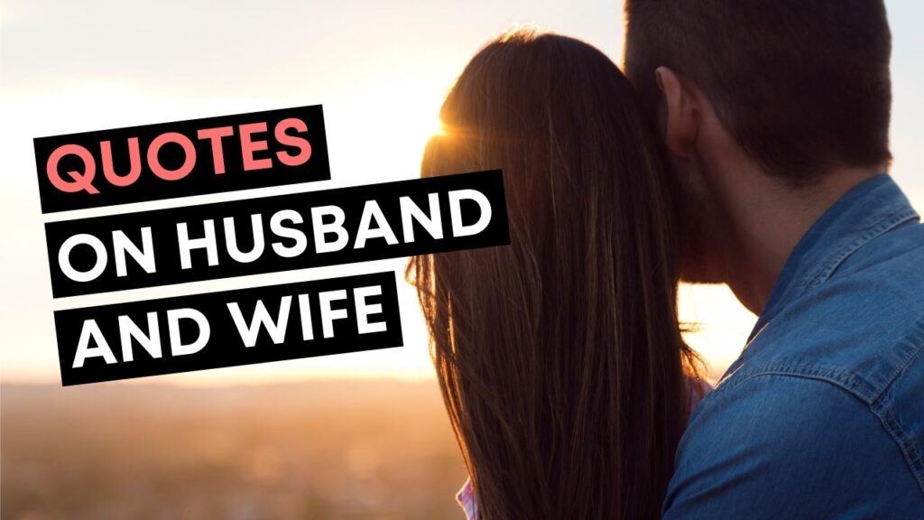 Husband And Wife Quotes - YouTube Video Cover