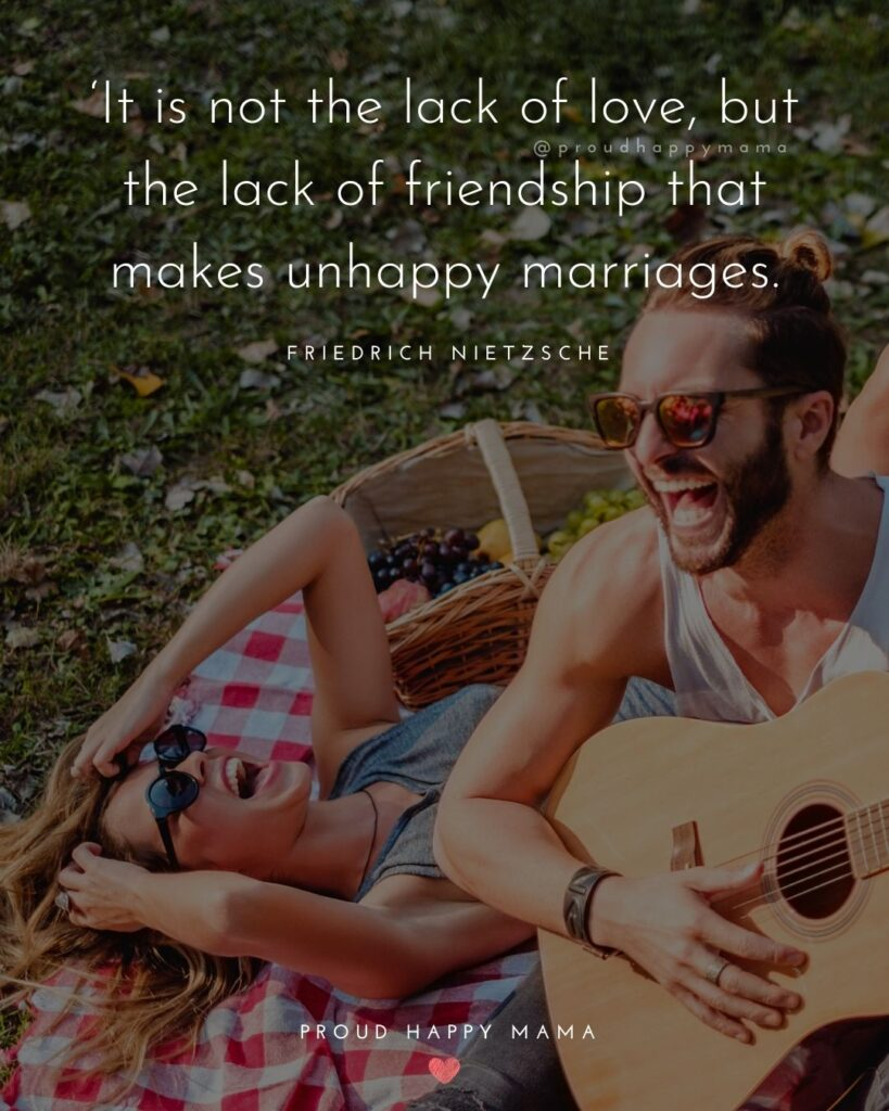 Marriage Quotes -It is not the lack of love, but the lack of friendship that makes unhappy marriage