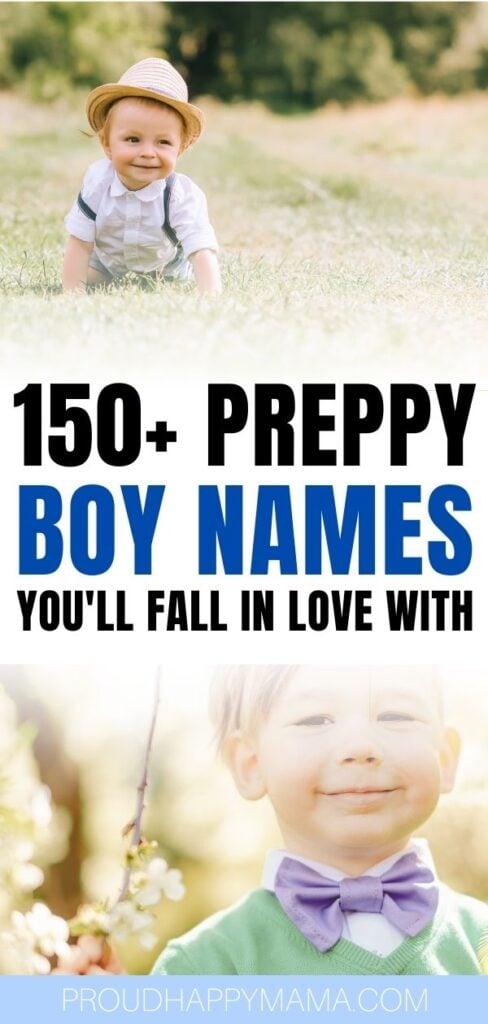 Preppy Baby Boy Names