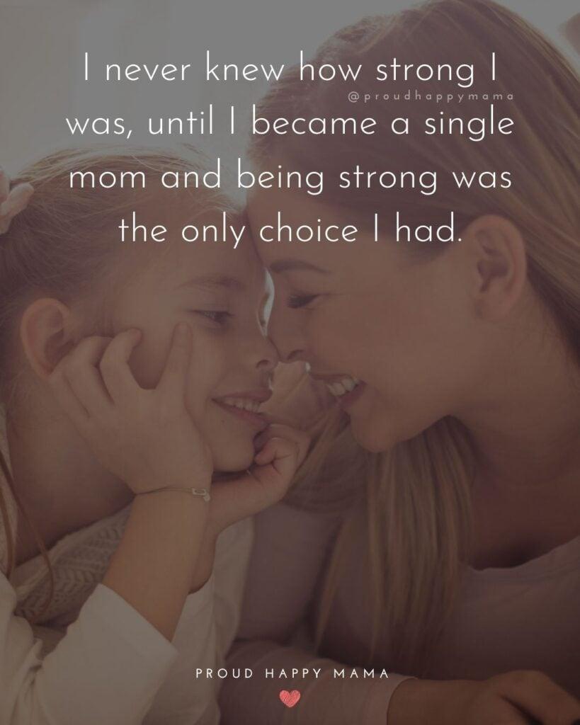 Single mom feeling overwhelmed