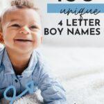 Unique 4 Letter Boy Names
