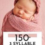 3 Syllable Girl Names List