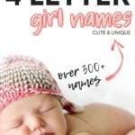 4 Letter Girl Names Best
