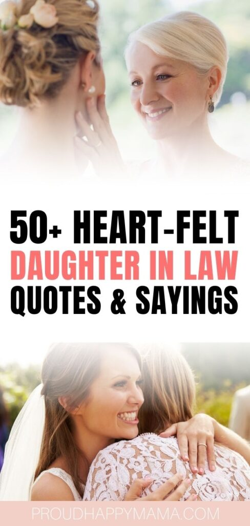 Best daughter in law quotes