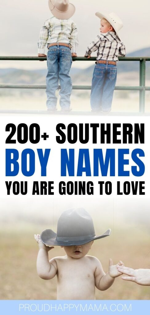 Country Southern Baby Boy Names