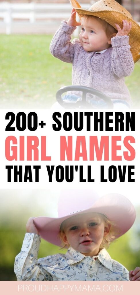 Country Southern Baby Girl Names
