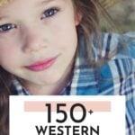 Cute Western Girl Names