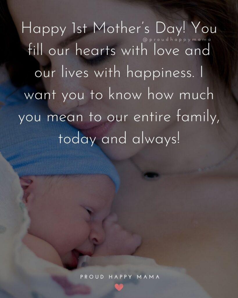 45+ Happy First Mother's Day Quotes [With Images]