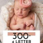 Four Letter Girl Names