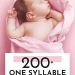 Pretty One Syllable Girl Names