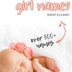Short Two Syllable Girl Names