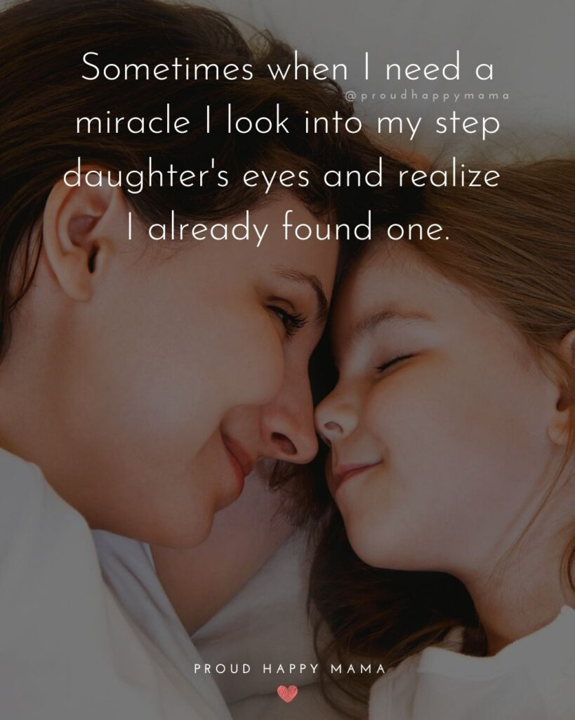 Step Daughter Quotes - My step daughter might not be mine by blood, but she is mine by heart.'
