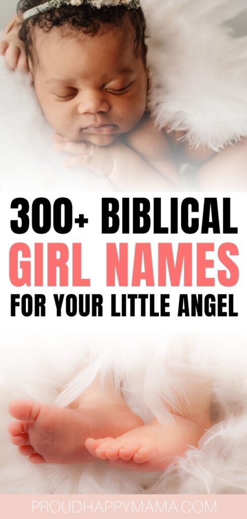 Strong Biblical Baby Girl Names