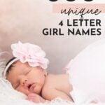 Unique Four Letter Girl Names