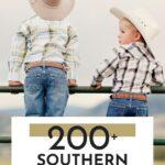 Unique Southern Boy Names