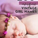Unique Vintage Girl Names