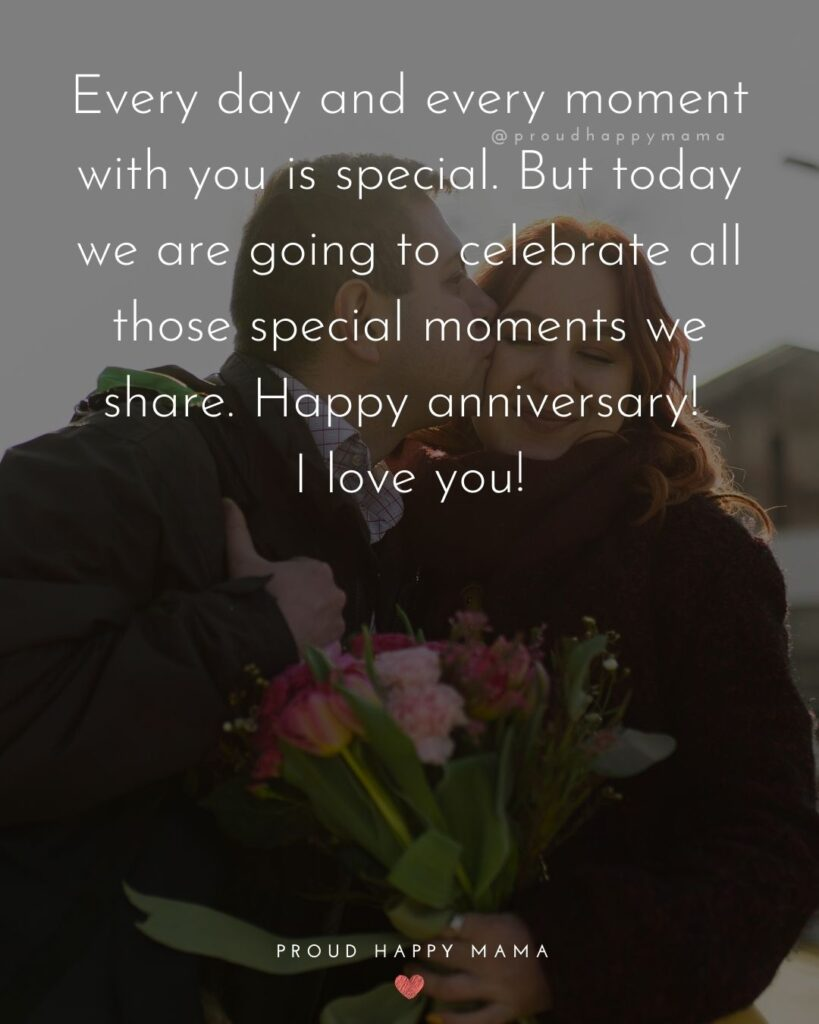 Wedding Anniversary Wishes For Husband - Every day and every moment with you is special. But today we are going to celebrate all those special