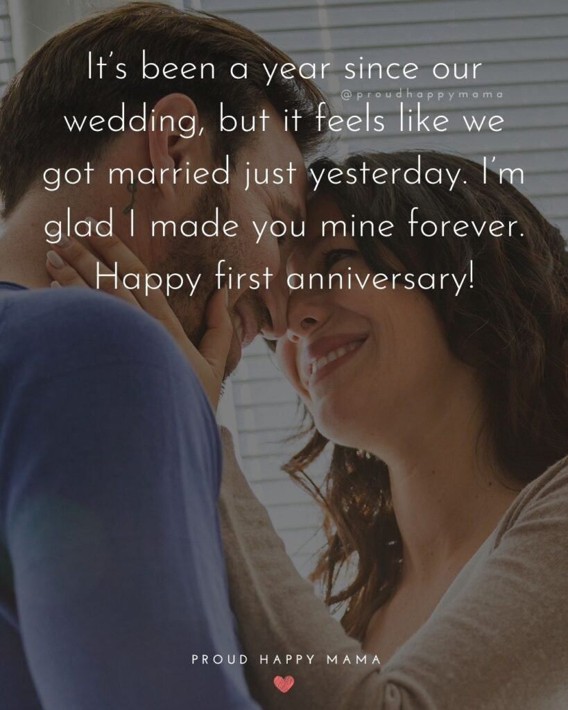 Wedding Anniversary Wishes For Husband - It's been a year since our wedding, but it feels like we got married just yesterday. I'm glad I made you