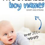 strong two syllable boy names youll love
