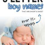 3 Letter Boy Names