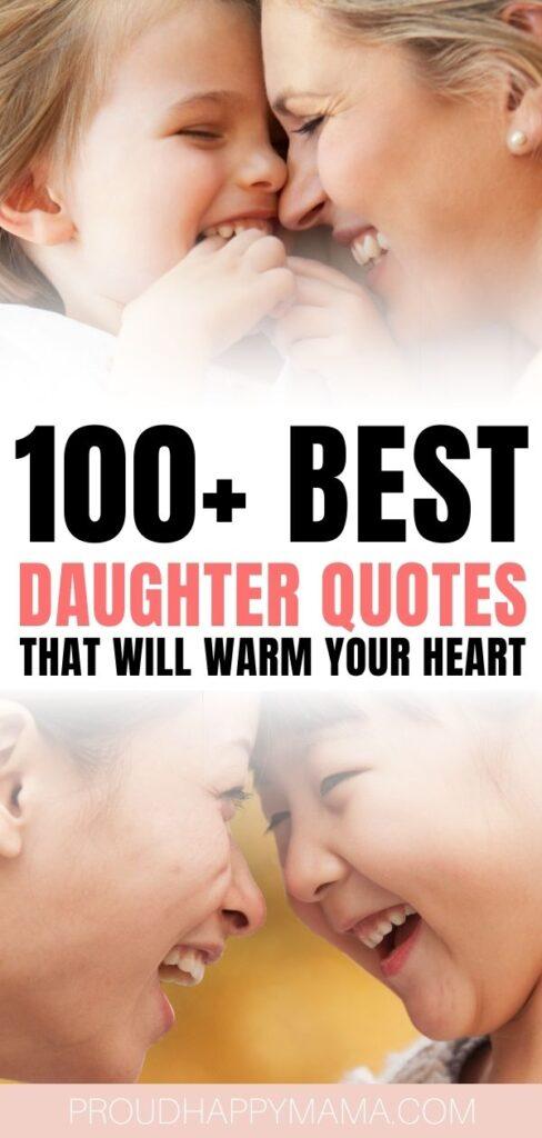 Best Daughter Quotes