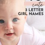 Cute 3 Letter Baby Girl Names