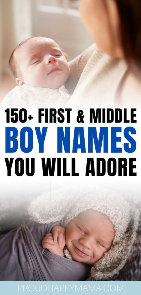 First And Middle Names For Boys
