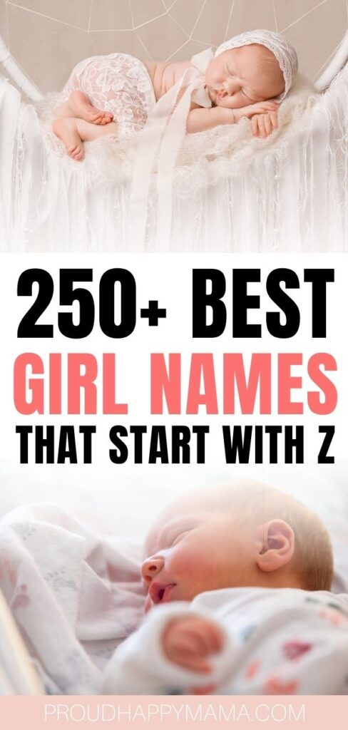 Girl Names That Start With Z