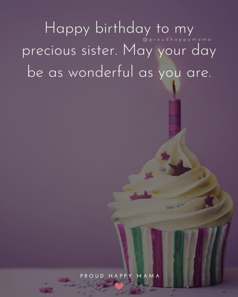 Happy Birthday Wishes For Sister - Happy birthday to a great sister, a wonderful friend, and an all-round amazing person.'
