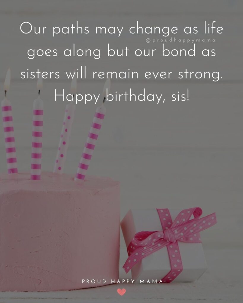 Happy Birthday Wishes For Sister - The best things in life are not things, they are sisters. Happy Birthday my beautiful sister!'