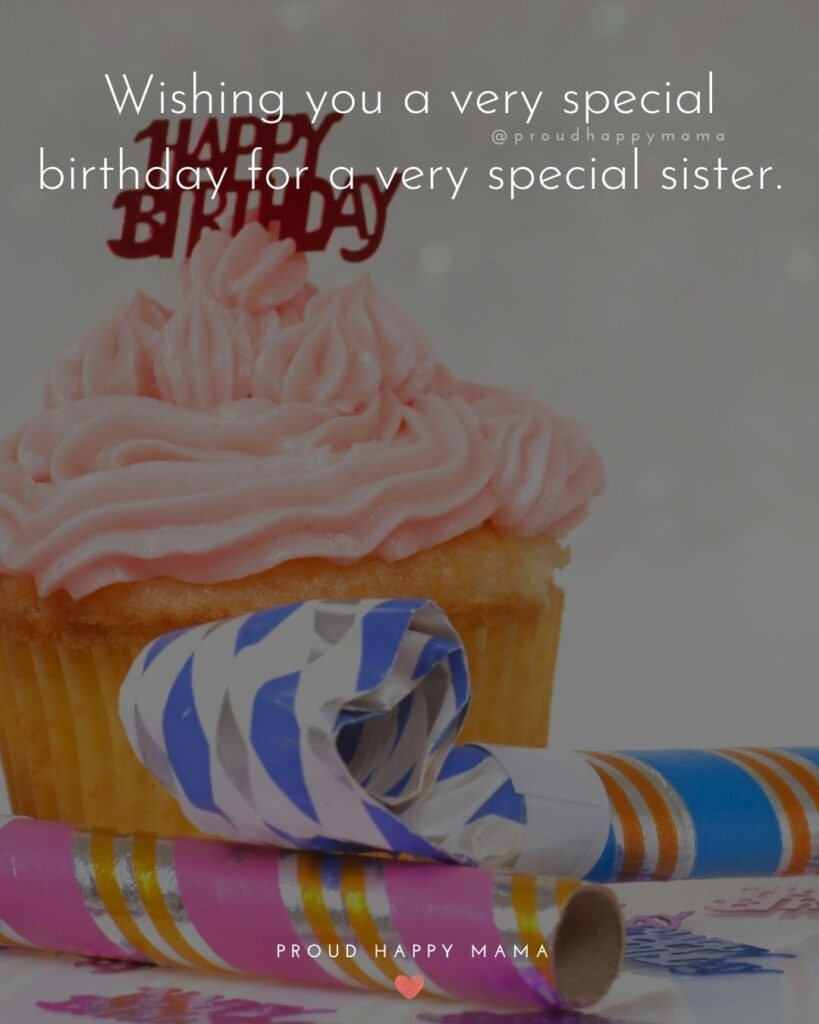 Happy Birthday Wishes For Sister - To my sister, wishing you a wonderful, happy, healthy birthday. Now and forever!'