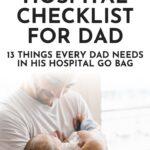 Hospital Checklist for Dad