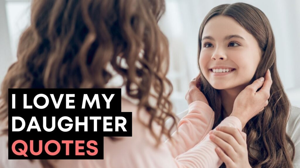 I Love My Daughter Quotes - Youtube Video Cover
