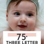 Pretty Three Letter Girl Names