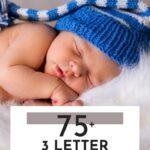Unique 3 Letter Boy Names