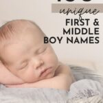 Unique Baby Boy Name Combinations