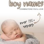 first and middle baby boy names