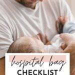 hospital bag checklist for dad