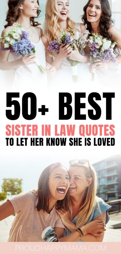 quotes for a sister in law
