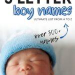 Best 5 Letter Boy Names