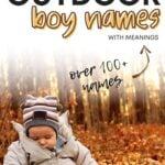Best Outdoor Boy Names
