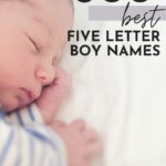 Five letter Baby boy names